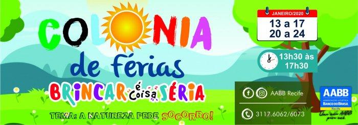 COLÔNIA DE FÉRIAS