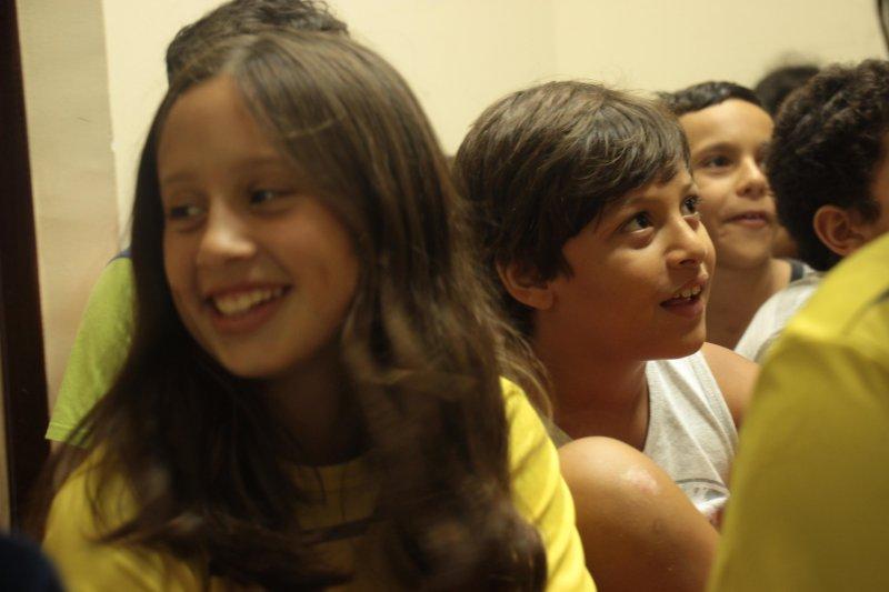 Homenagem à Equipe Petiz/Mirim de Natação!