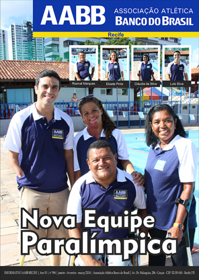 Informativo AABB Recife | Ano 50 | N� 594 | Jan-Fev-Mar/2014