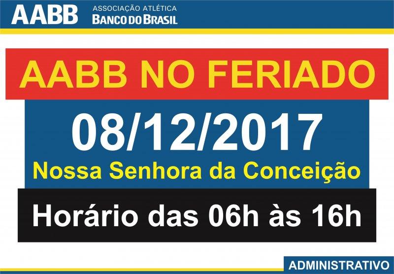 AABB No Feriado!