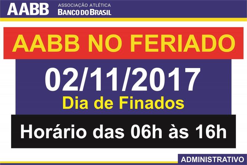 AABB Recife no Feriado!