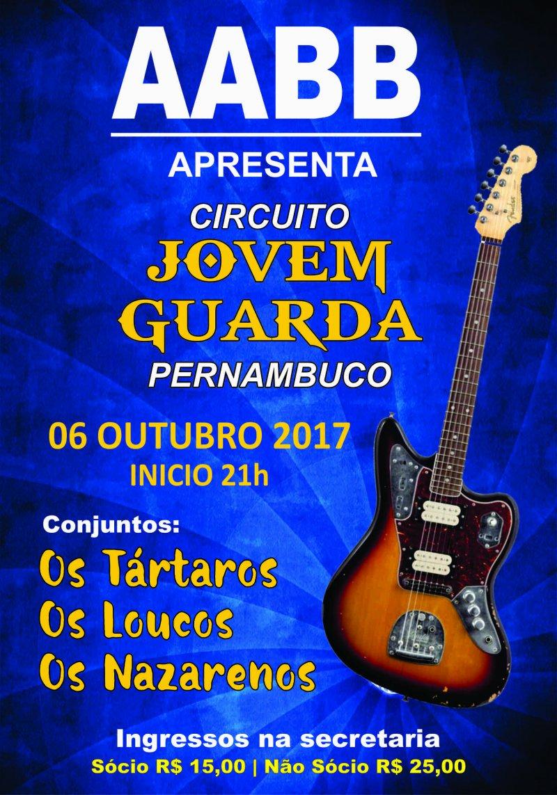 AABB Recife Apresenta: Circuito Jovem Guarda Pernambuco!