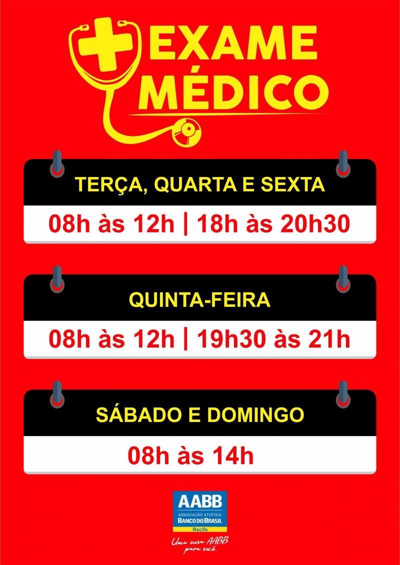 Exame Médico!
