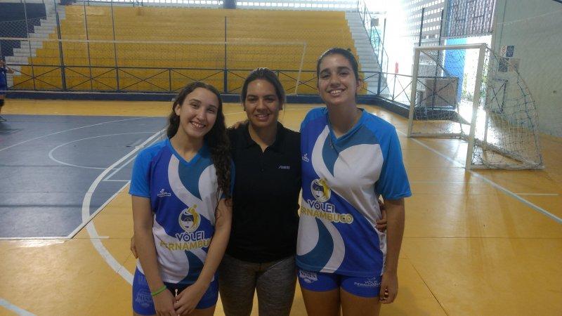 Atletas da AABB Recife na Seleção Pernambucana de Voleibol!