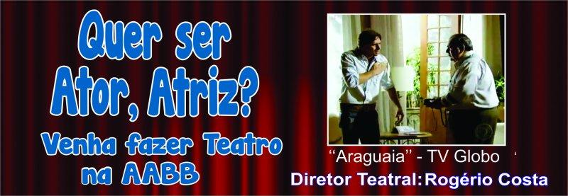 Curso de Interpretação Teatral!